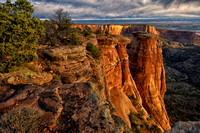 Rock formations - Colorado National Monument