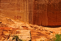 Pictographs - Lower Calf Creek